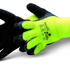 BHP- Rękawice, maski, kombinezony